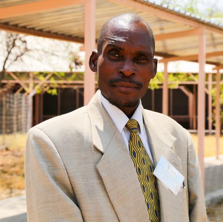 Immanuel Mupika, a member of Let's Unite