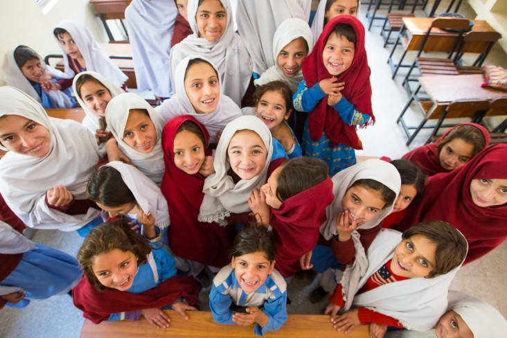 For many girls of Khyber Pakhtunkhwa, reconstructed schools close to their homes are a dream come true.