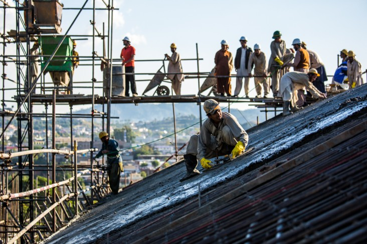 Building reconstruction also had a positive impact on the local workforce.