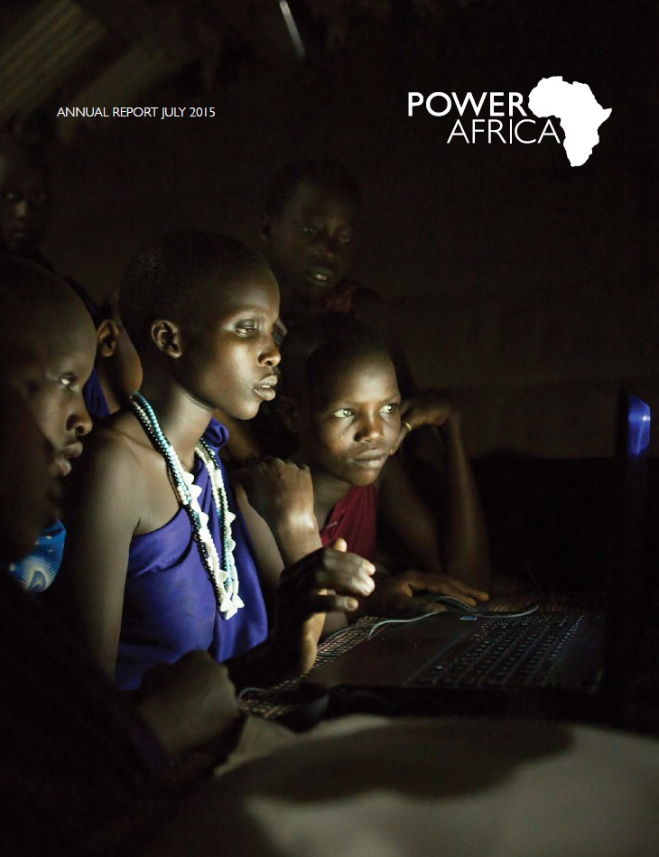Power Africa Annual Report 2015 - Click to view