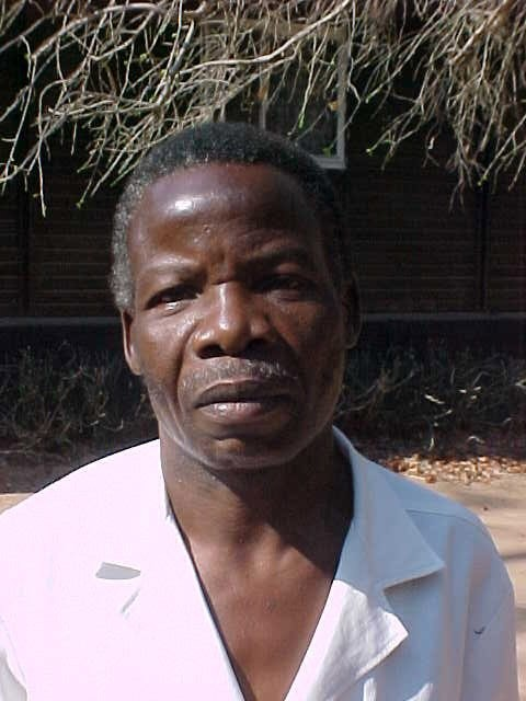 Thompson Tembo during his COMACO training in 2004.