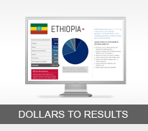 Dollars to Results tout - Ethiopia