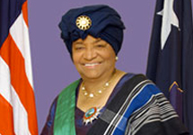 The Honorable Ellen Johnson Sirleaf