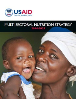 Cover of the Multi-Sectoral Nutrition Strategy 2014–2025