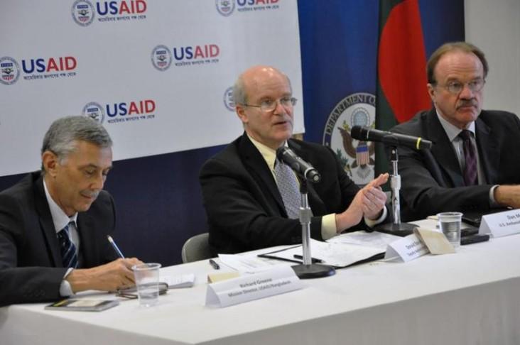 Deputy Administrator Steinberg speaks in Bangladesh.