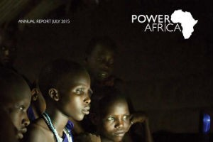 Power Africa Annual Report newsroom cover
