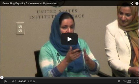 Promoting Equality for Women in Afghanistan