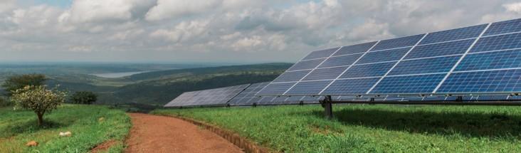 Solar installations like the Power Africa-supported Gigawatt Global Solar Field in Rwanda, the first utility-scale solar facilit
