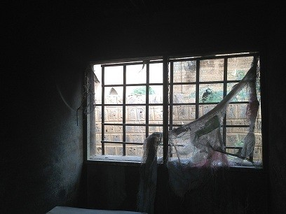Before -- The residence of the President of Timbuktu's Tribunal was vandalized during the occupation in 2012.