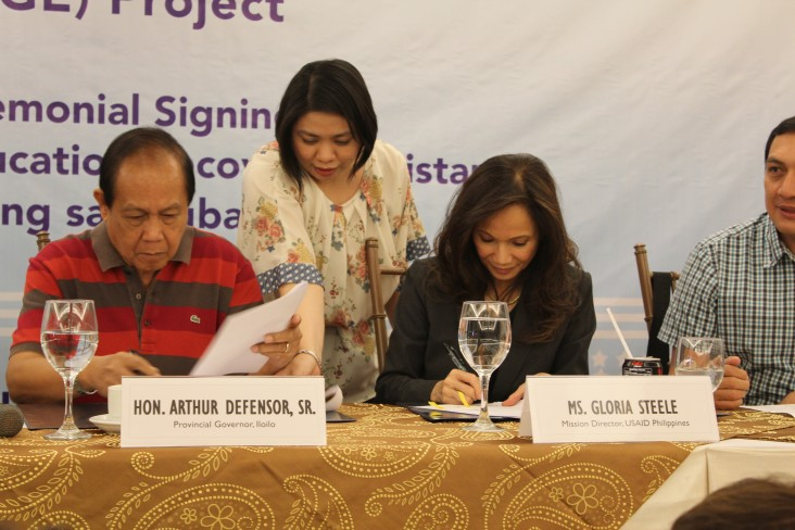 U.S. Government Extends Post-Yolanda Education Support for Iloilo, Capiz and Bohol