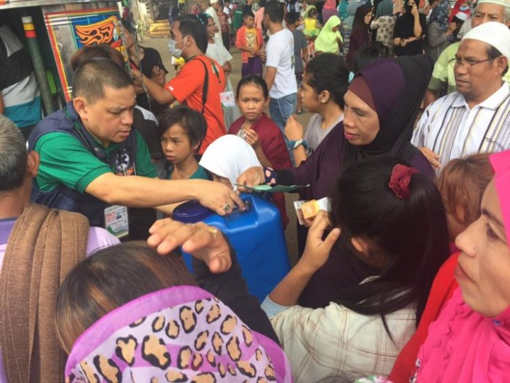 U.S. Government Programs Provide Relief to Marawi Evacuees