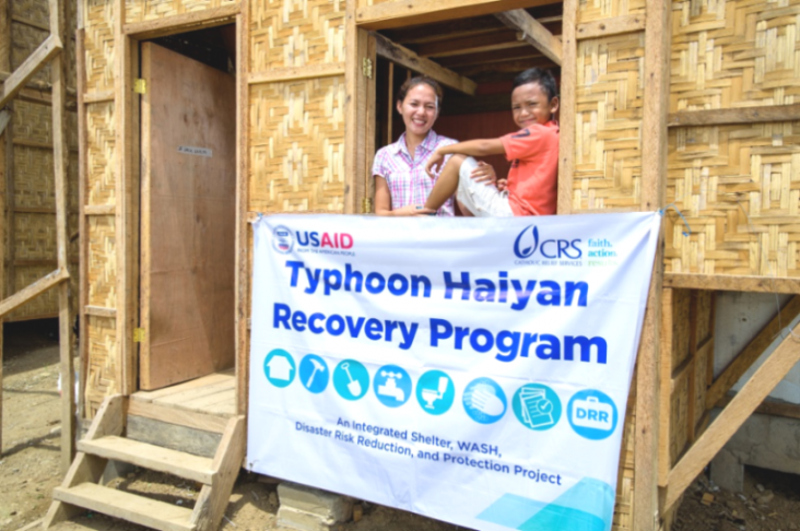 US Government and Catholic Relief Services Provide Safe Housing to Over 3,000 Families Affected by Typhoon Yolanda
