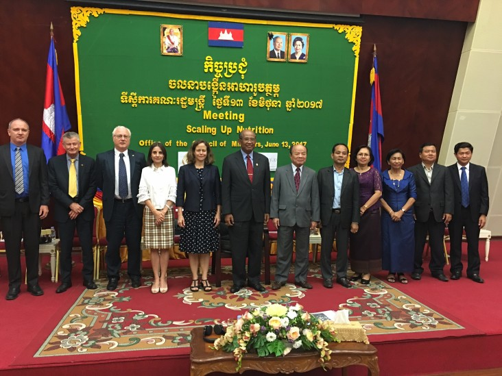 Remarks by Polly Dunford, Mission Director, USAID Cambodia, Scaling Up Nutrition (SUN) Annual Meeting