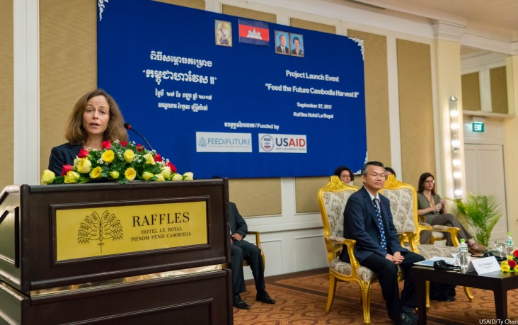 Remarks by Polly Dunford, Mission Director, USAID Cambodia, Launch Event of Feed the Future Cambodia Harvest II