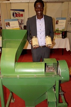 Thresher on the Move: Young innovator reduces harvest losses, boosts food security