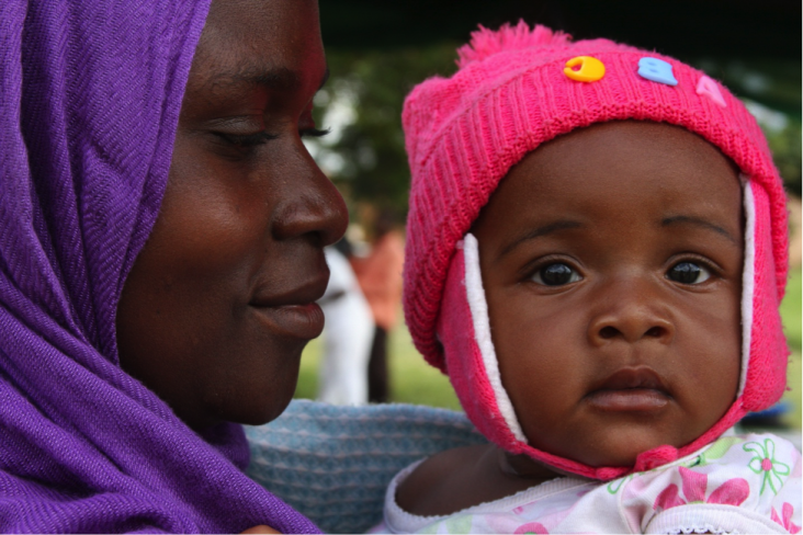 Monica Elias received health services while she was pregnant with her daughter Angel and delivered safely in a facility through USAID's Mothers and Infants, Safe, Healthy and Alive (MAISHA) program in Tanzania.