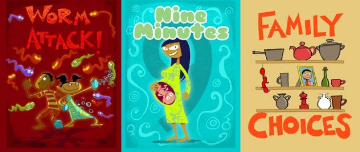 Worm Attack!, 9-Minutes, Family Choices mobile games