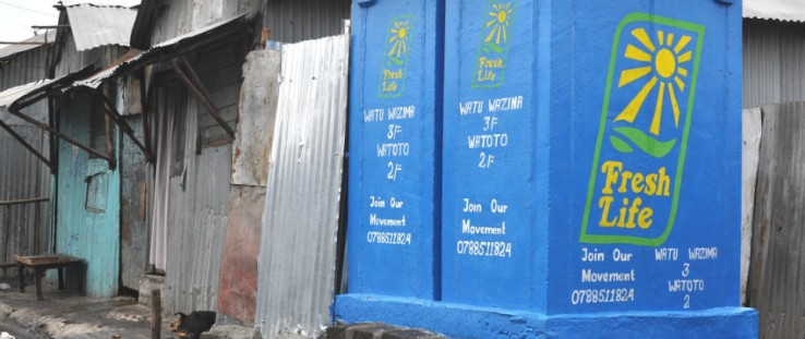 Modular design allows latrines to fit where they are needed most