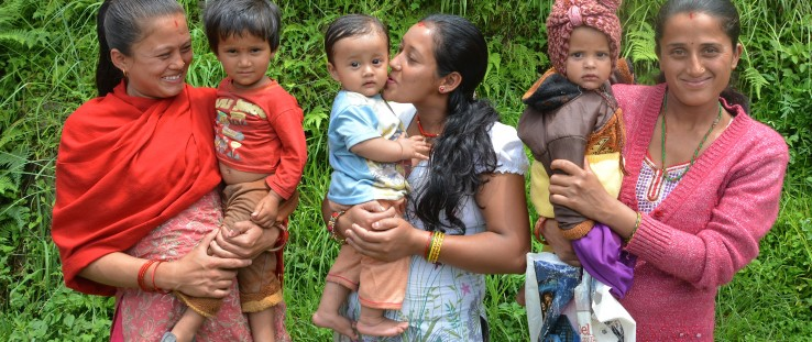 All children deserve the healthiest possible start in life. These new mothers are among the 350,000 Nepali women trained in opti