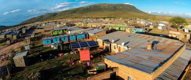 A PowerGen solar microgrid in rural Kenya
