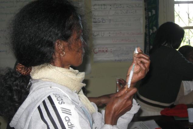 Depo injection training