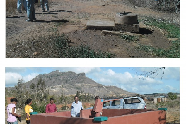 USAID helped rehabilitate water wells in the northern region of the country