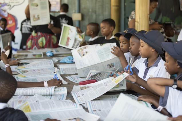 Story Powered Schools supported by USAID through Nalibali