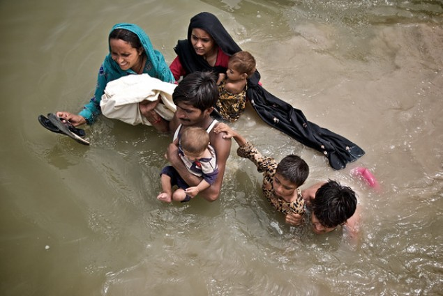More than 10 percent of Pakistan's population was forced to flee their homes in 2010 after heavy monsoon rains triggered floods.
