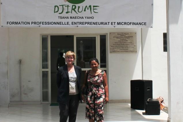 The micro finance program graduates were recognized here