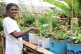 Angelette, community health volunteer in Ampasimbola