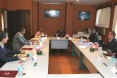 Round table with members of the American Chamber of Commerce (AmCham)