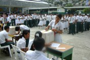 Students at School Elections