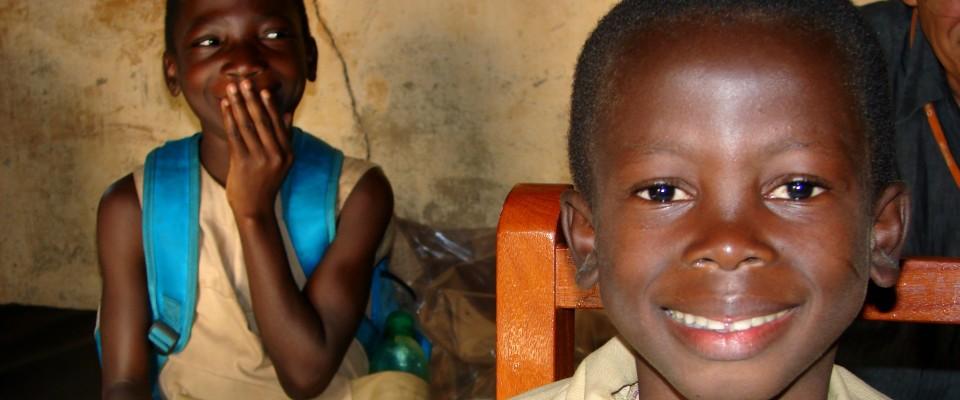 Benin children