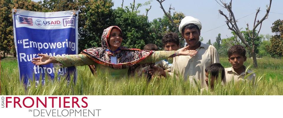 "Credit: ""Nuzhat Bibi - A project beneficiary,"" Small Grants Program with Potohar Organization for Development Advocacy (PODA)"