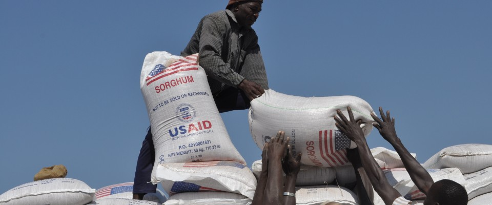 USAID is providing lifesaving food assistance in response to vast food needs created by ongoing conflict in South Sudan.