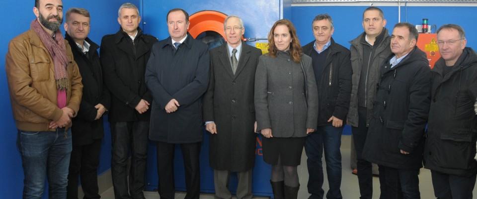 Ambassador Kirby Opened Ozone Jeans Finishing Facility in Novi Pazar