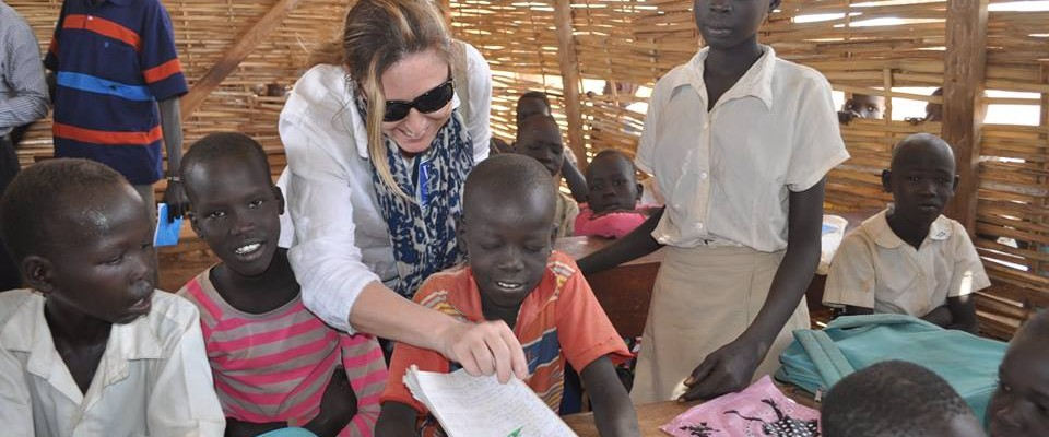 In South Sudan, which has the world's highest proportion of out-of-school primary-age children, USAID is providing access to safe, protective and quality education for children affected by conflict.