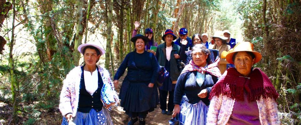 Women from Tambo farmers communities