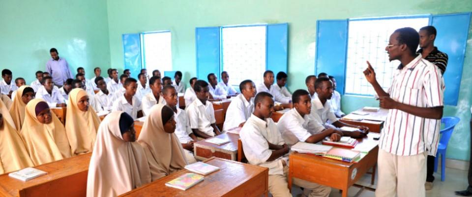 Somali classroom