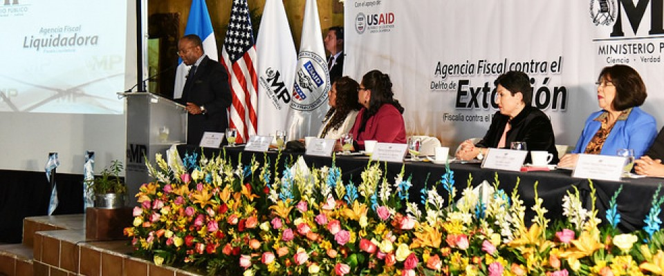 Partnering with the Government of Guatemala to strengthen key security and justice sector institutions