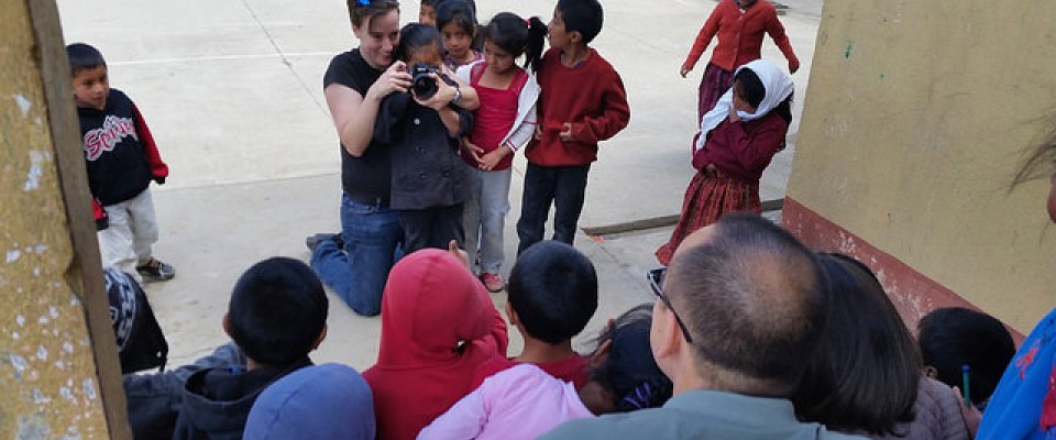School Children participating in School Photo Shoot