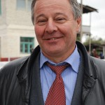 Photo of Hamid Mikayilov, owner of Girkhbulag Trout Farm