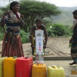 Community Members Collect Water