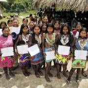 USAID en Comunidad Emberá-Wounaan