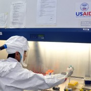 USAID has enabled a network of national and regional laboratories to detect and monitor strains of H5N1 and other viruses.
