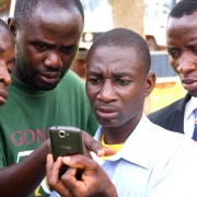 Forest monitors in western Tanzania receive training on how to collect field data using Android smartphones and Open Data Kit.