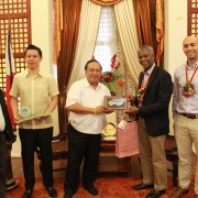United States Agency for International Development Official Visits Bohol; Renews U.S. Commitment to the Province's Growth