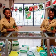 With U.S. assistance, there will soon be 20 more farm service centers like this one in Amhara, Oromia, SNNPR and Tigray.