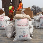 USAID/Zimbabwe emergency food distribution in Hwange