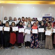 USAID Microfinance Training Program Assists Young Afghan Women Enter Financial Sector